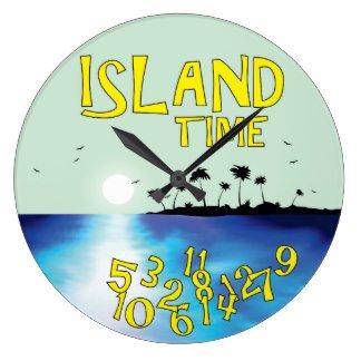 Island Time Clock