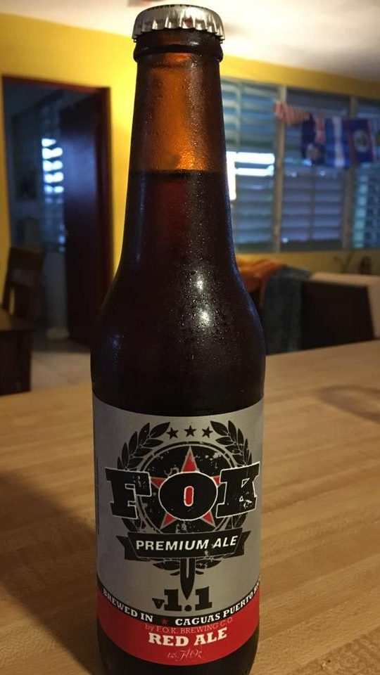 FOK craft beer from Puerto Rico