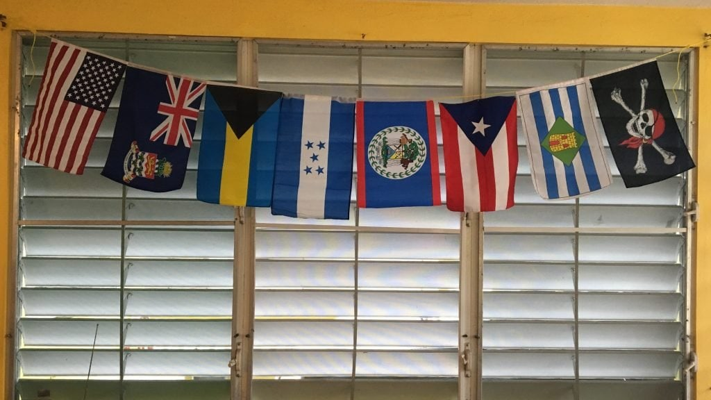 String of Country Flags