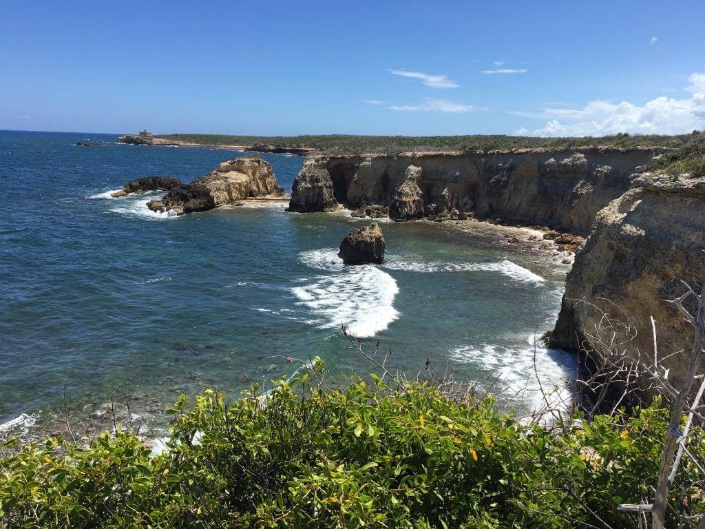 Cliffs Overlook (Puerto Ferro Light in the distance)