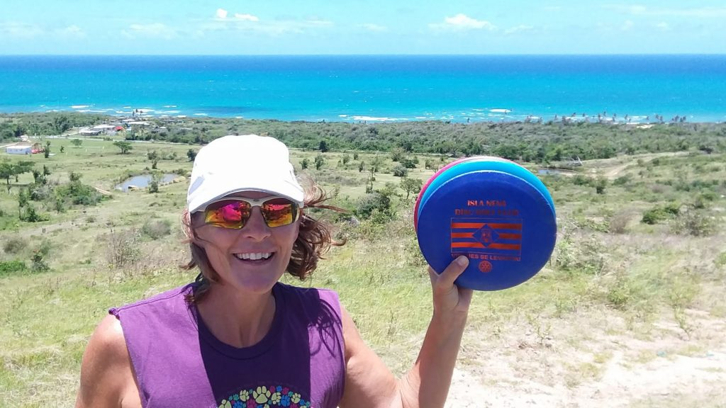 The best disc golfing in the Caribbean