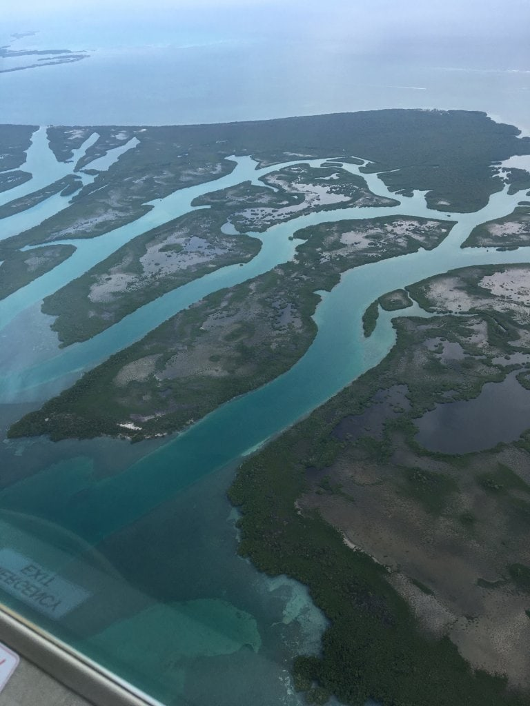 Some of the islands of Belize