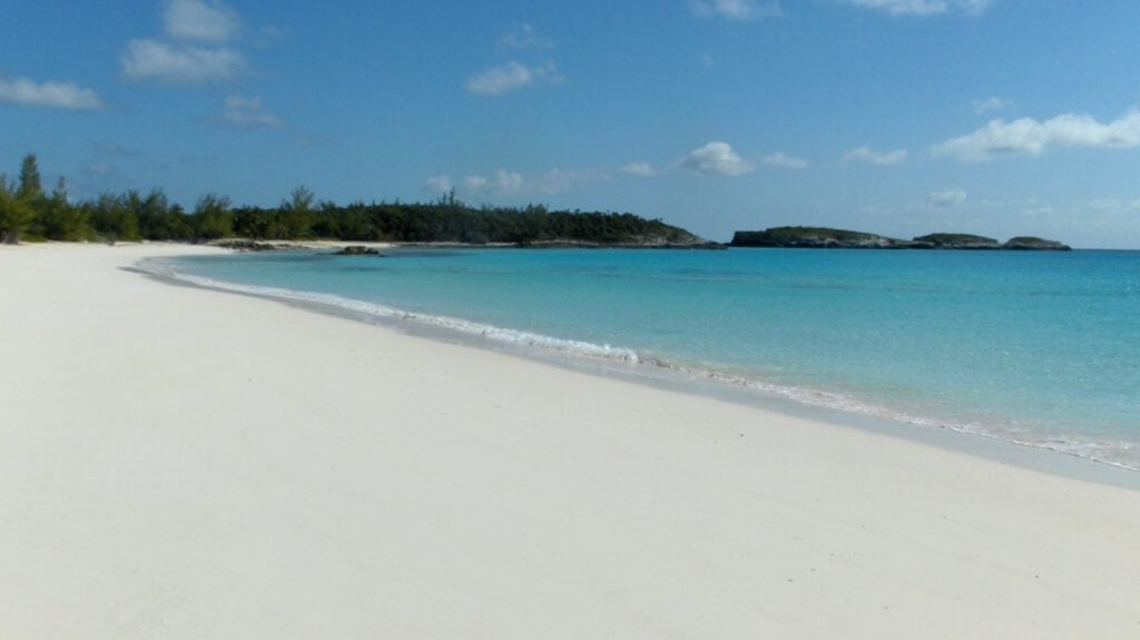 Like Eleuthera, Bahamas for example