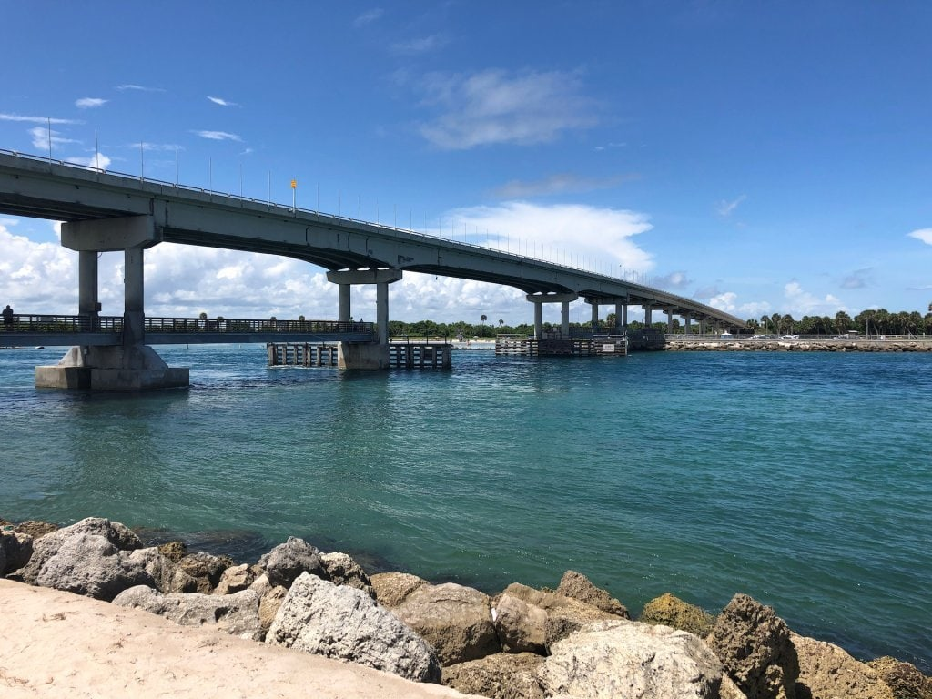 The Sebastian Inlet Bridge