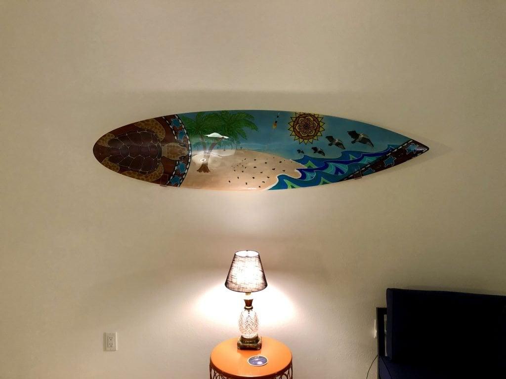 """Surfboard Art by """"Jenny's Making Waves"""""""