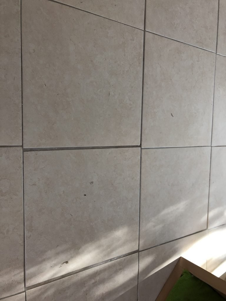 This tile had to go