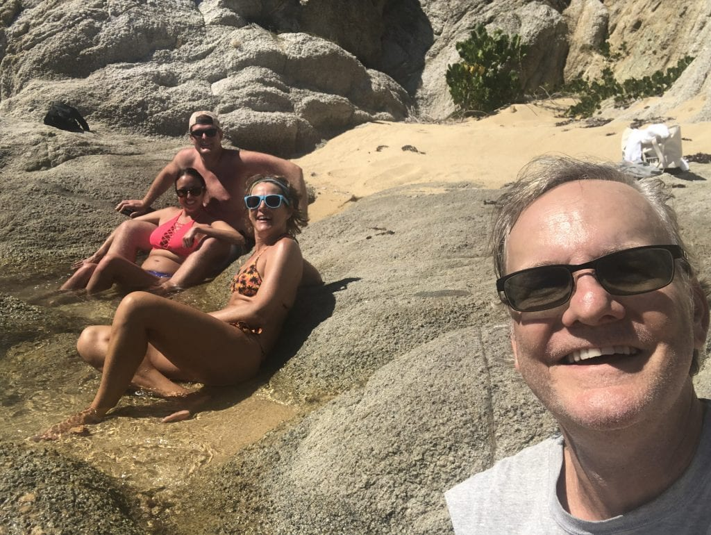 Cooling off in tidal pools