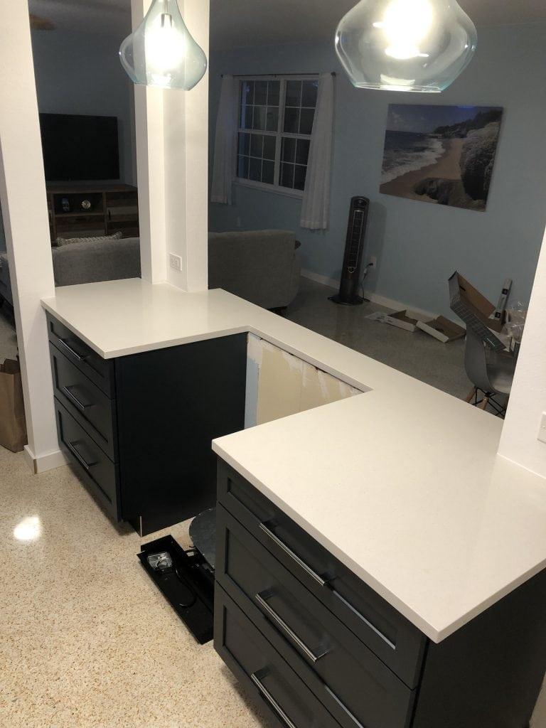 New countertops - yay!