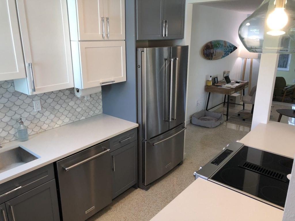 New fridge location