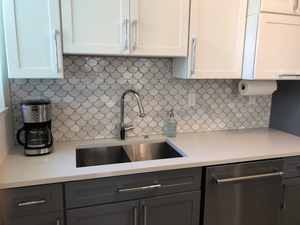 Tile and Sink